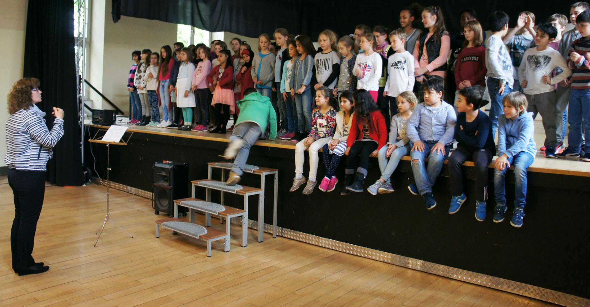 Unser Schulchor singt …