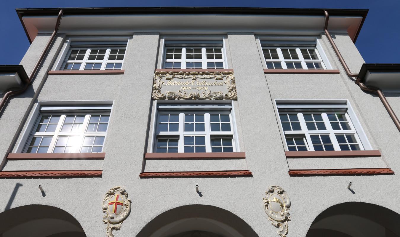 Pestalozzi Grundschule Freiburg - Fassade