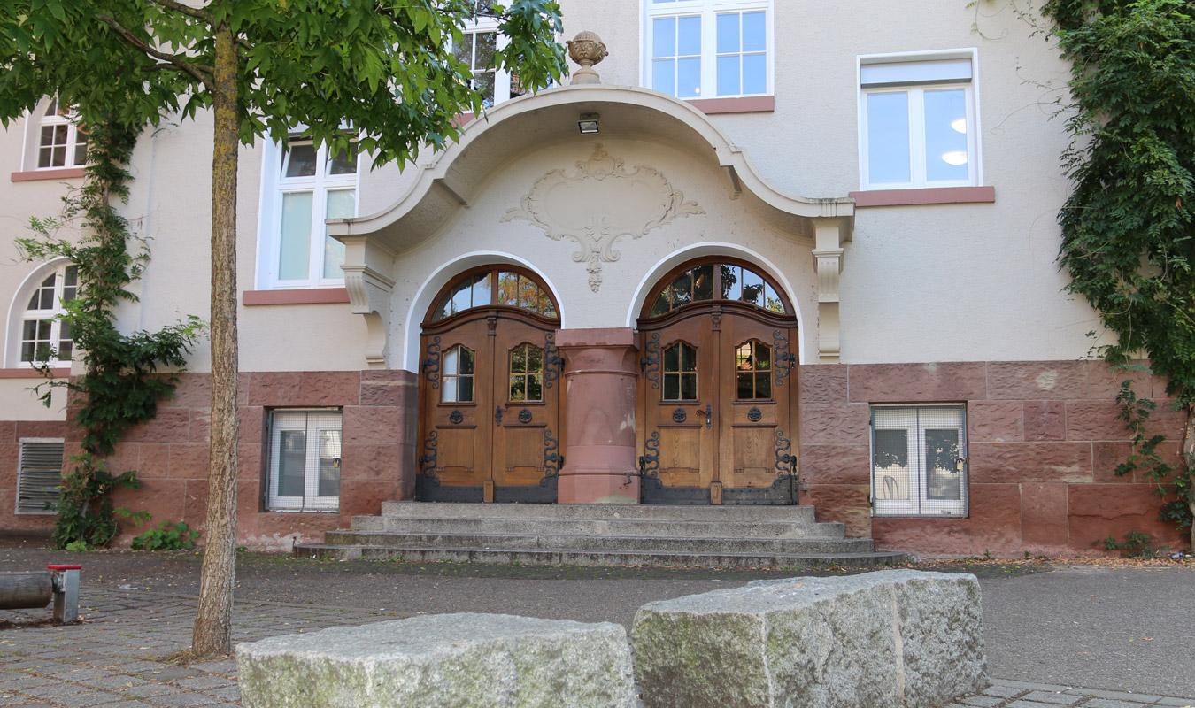 Pestalozzi Grundschule Freiburg - Hintereingang Schulhof