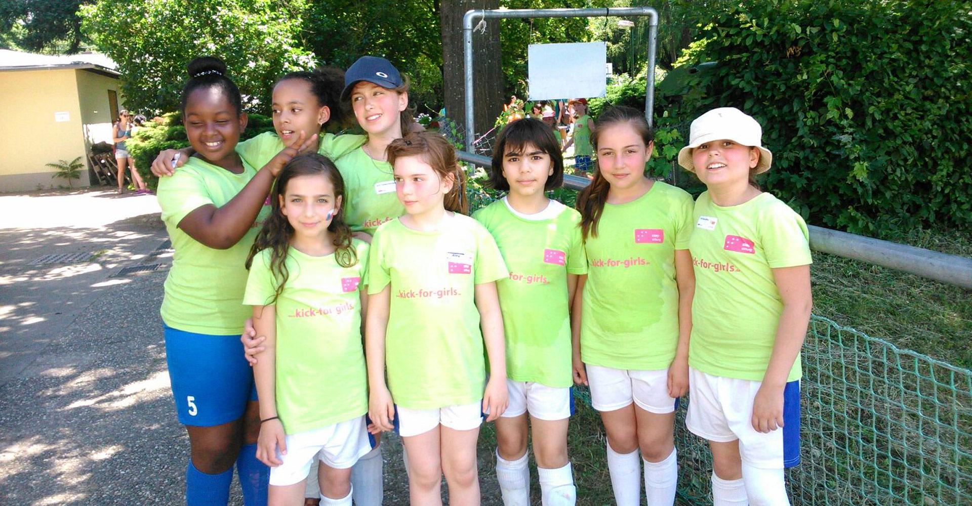 Sport-AG Mädchenfußball